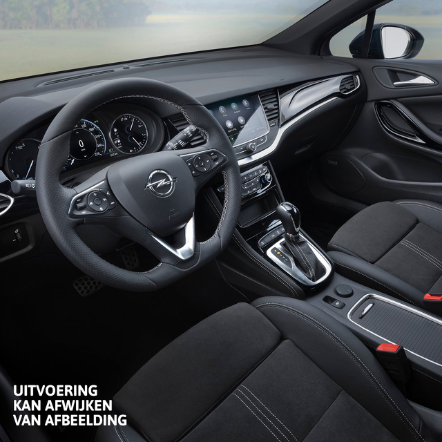 Opel Astra Sports Tourer private lease Interieur Vakgarage