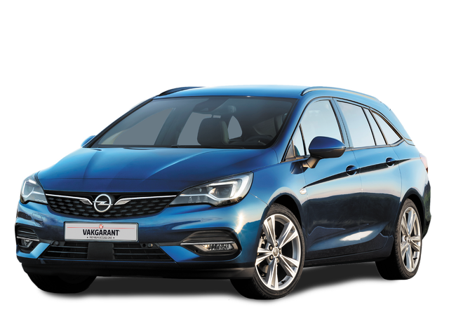 Opel Astra Sports Tourer private lease Vooraanzicht