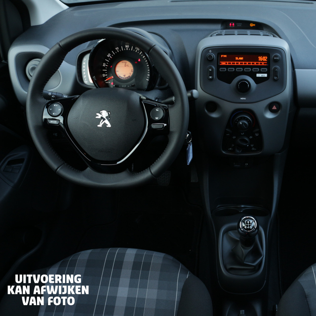 Peugeot 108 interieur private lease