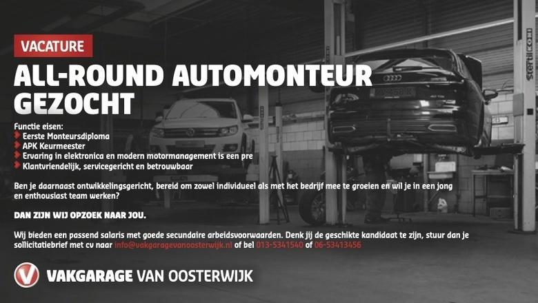 All-round automonteur gezocht!