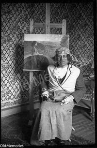 Le peintre et son tableau