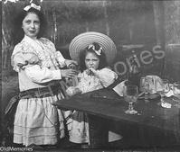 Enfants lors d'un pique-nique