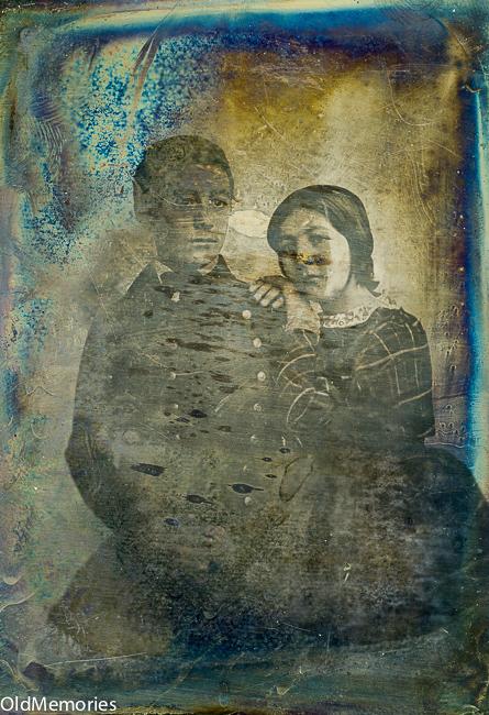 Camille et Edmond Nau en 1845