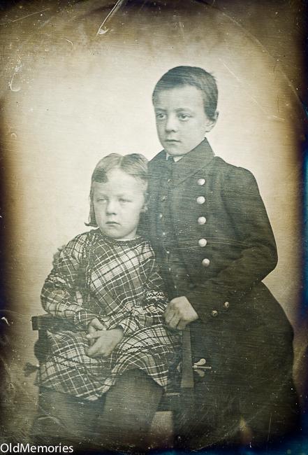 Charles et Albert Nau en 1845