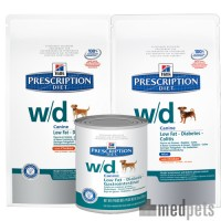 Hill's w/d Low Fat / Diabetic / Gastrointestinal - Prescription Diet - Canine