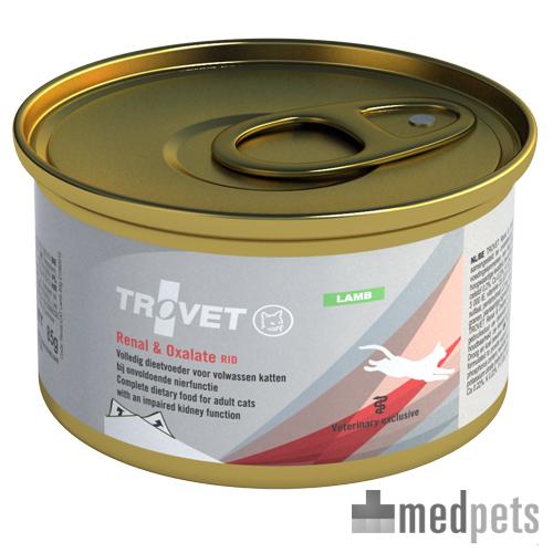 Produktbild von TROVET Renal & Oxalate RID Katze