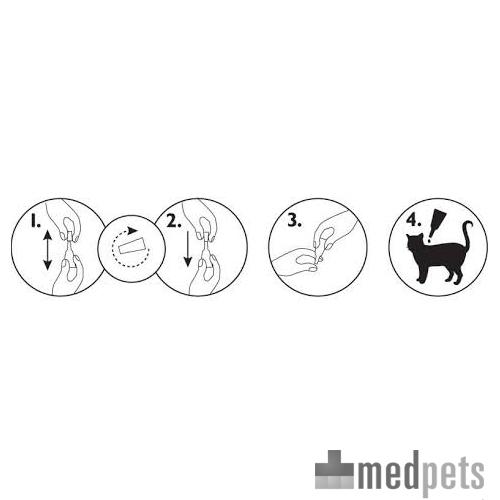 Produktbild von Amflee Spot-on Katze