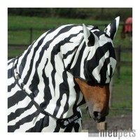 Bucas Buzz-Off Zebra Maske