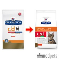 Hill's c/d Urinary Stress Reduced Calorie - Prescription Diet - Feline