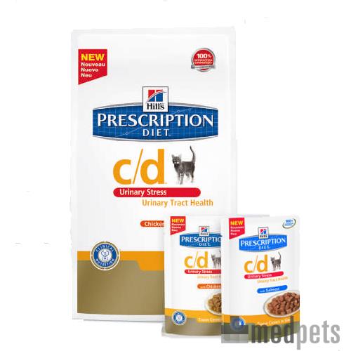 Produktbild von Hill's c/d Urinary Care - Urinary Stress - Prescription Diet - Feline