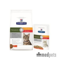 Hill's Metabolic + Urinary Stress - Prescription Diet - Feline