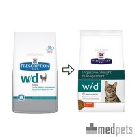 Hill's w/d Low Fat/Diabetes/Colitis - Prescription Diet - Feline