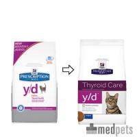 Hill's y/d - Thyroid Care - Prescription Diet - Feline