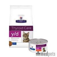 Hill's y/d - Thyroid Care - Prescription Diet - Feline
