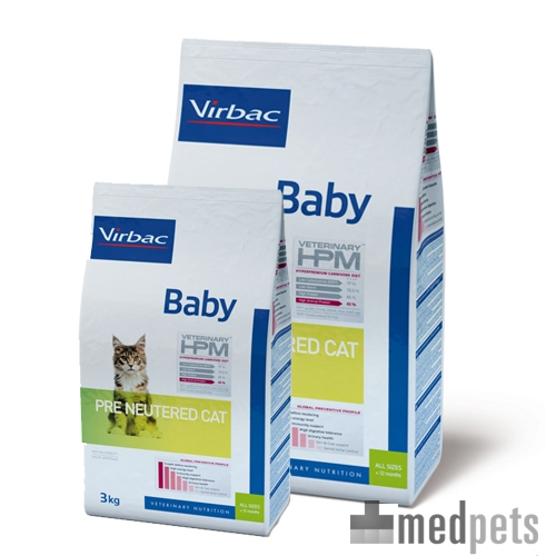 Product afbeelding van HPM Veterinary - Baby Pre Neutered Cat