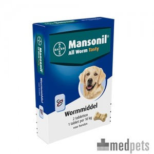 Product afbeelding van Mansonil All Worm Dog