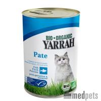 Yarrah - Katzenfutter Paté Fish mit Spirulina und Meeresalgen Bio