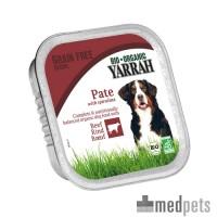 Yarrah - Hundefutter Paté Rind mit Spirulina Bio