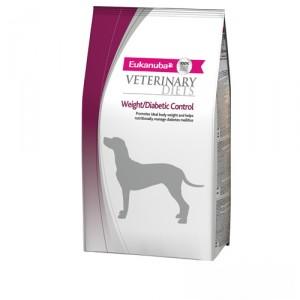Eukanuba Weight Diabetic Control - Veterinary Diets - Hond - 1 kg