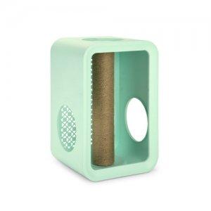Beeztees Cat Cube Scratch - Mellow Mint