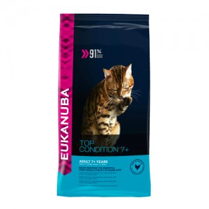 Eukanuba Cat Top Condition 7+ - 4kg