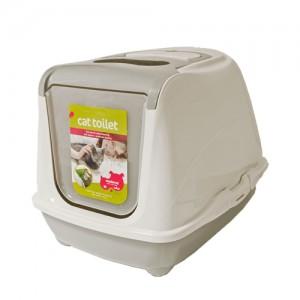 Moderna Products - Kattentoilet Flip Cat - Jumbo - Grijs