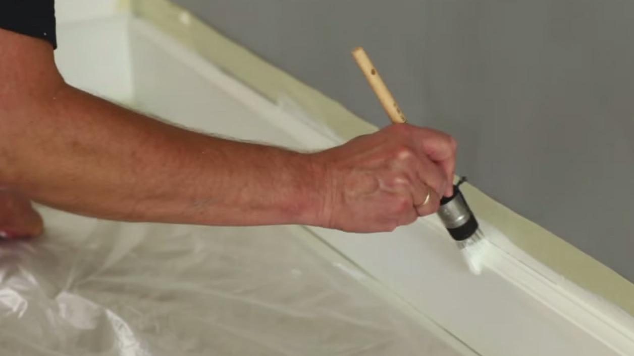 Hoe schilder ik een plint