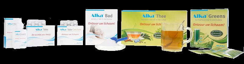 Producten voor actief ontzuren van het lichaam - AlkaVitae®