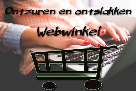Webwinkel ontzuren en onslakken van het lichaam