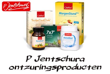 P Jentschura producten voor ontzuren en ontslakken van het lichaam