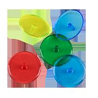 Golf Gear Markeringsknappar Neon