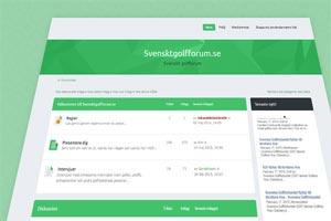 Samarbete med Svensktgolfforum.se