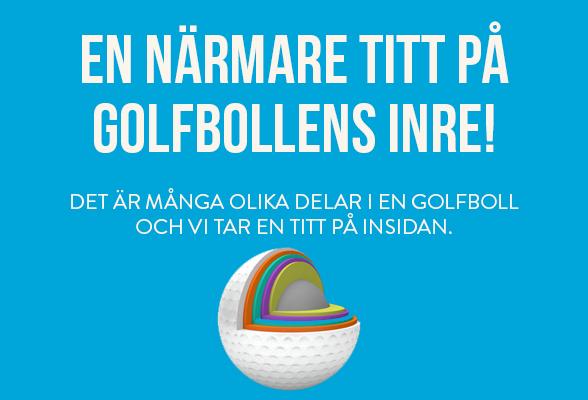 Golfbollen är det viktigaste du har i bagen!