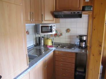 Küche mit Geräte
