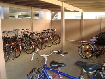 abgeschlossener Fahrradraum