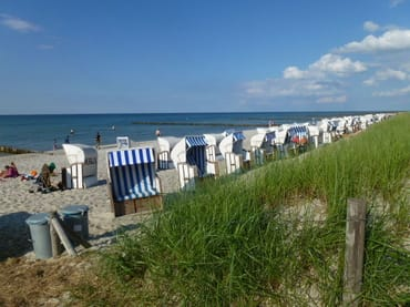 Strandkorbstrand Übergang 9