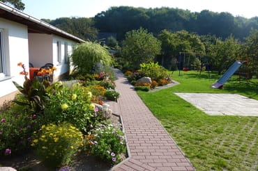 unser Garten im September
