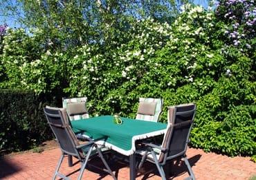 Die Terrasse zum Relaxen
