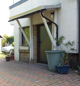 Eingangsbereich Fewo mit Terrasse
