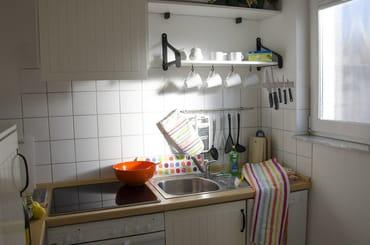 Einbauküche mit E- Geräten (voll eingerichtet)