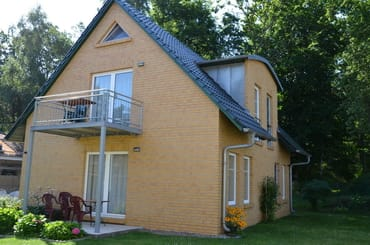 Hausansicht Wohnung 1 und 2