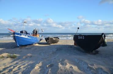 Der schöne Strand von Baabe nur 500m von unseren Wohnungen !!!