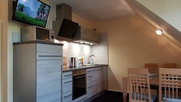 Wohnbeispiel, Wohn-und Essbereich in unseren Dreiraumwohnungen