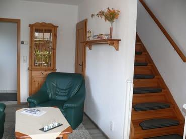 Treppe zum Schlafzimmer Wohnung 3