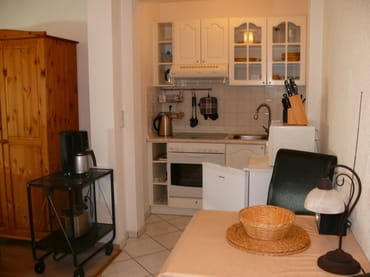 kompl.Küchenzeile Appartement