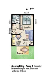 Grundriss Wohnung 5