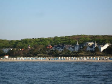 Strandansicht Zinnowitz