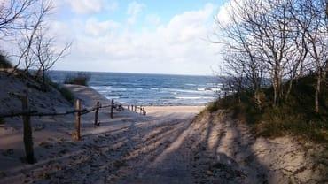 Strand und Ostsee