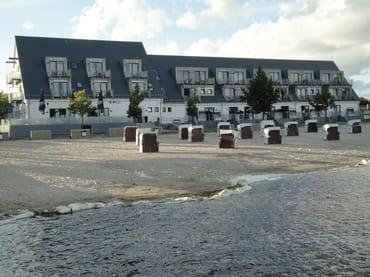 Boddenstrand Dranske (mit Strandhotel)