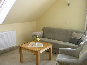 Wohnzimmer-Auszieh-Couch